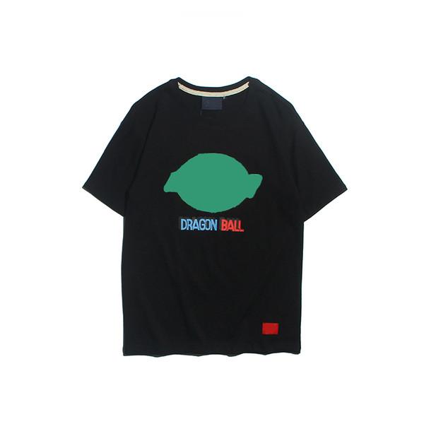 19ss DIK new mens women designer tshirts luxury European American pop dragon ball shirt spring hot shirt fashion stylish shirts