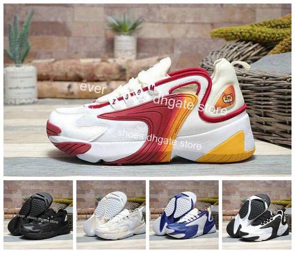 Großhandel 2019 New Zoom 2K Sneaker Zoom 2000 Schuhe Schwarz Blau Weiß Rot Männer Laufen Basketball Herren Trainer Lässige Turnschuhe Von Ever_shoes,
