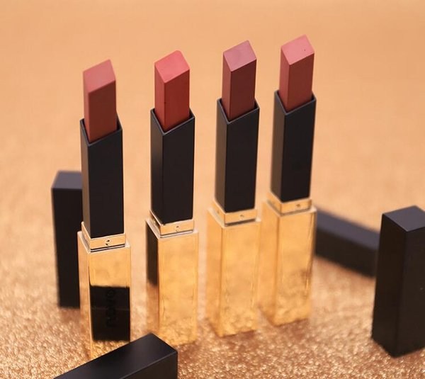 Maquillage Shaking Same Small Gold Bar Lipstick Waterproof Non-sticking Cup Long-lasting Moisturizing and Dumb dhl