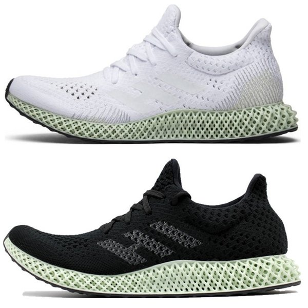 2019 Futurecraft 4D Running Shoes For Men Women Ash Green Triple Black White Red Mens Designer Trainer Sport Sneaker Size 38-47