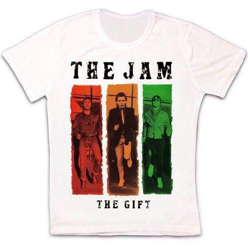 O Jam The Gift Post Punk Rock Camiseta 1723 moletom com capuz hip hop t-shirt jaqueta croatia tshirt de couro roupas denim camiseta
