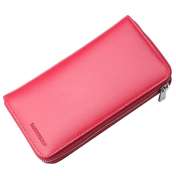 New Women Long Clutch Wallet PU Leather Large Capacity Wallets Female Purse Lady Coin Purses Card Holder Carteras