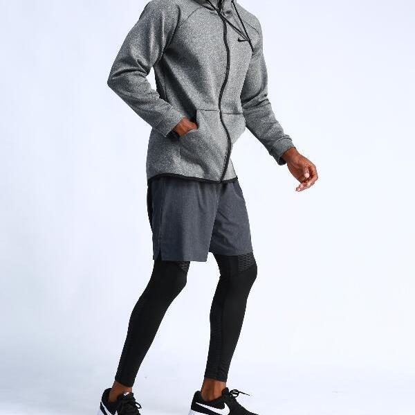 2019new extérieur courir veste de fitness formation basket casual sportswear manches longues à capuche séchage rapide des hommes de veste Clothingd hommes