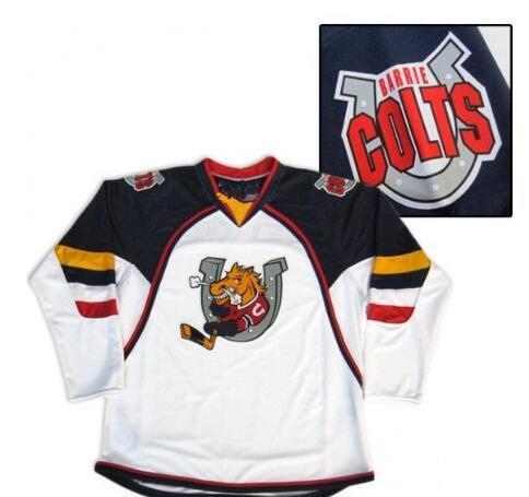 Customize Colts Hockey Jersey or custom any name or number retro Jersey