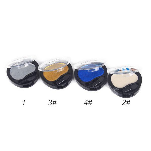 1PC Cosmetic Powder Smoky Eyeshadow Palette Makeup Set Matt 4 Colors Profissional Completa Eyeshadow Pallete Make-up Tool