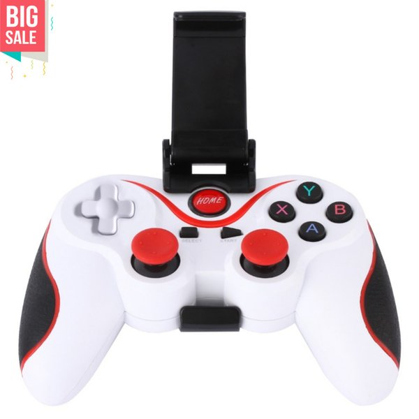 c gaming joystick Wireless Bluetooth 3.0 Gamepad Gaming Controller Joystick with Phone Tablet Holder Bracket for Android Phones Tablet PC...