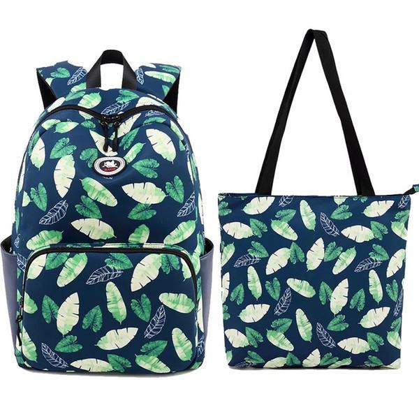 Waterproof Printing Backpack Women Cute 14 15 Inch Laptop School Bags For Teenage Girls Kawaii Knapsack #92560