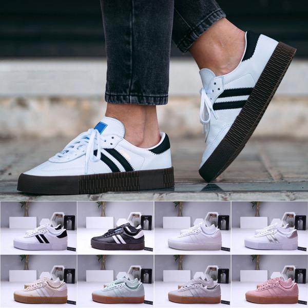 Herren Samba Rose Gazelle Classic Schuhe hohe Qualität grün schwarz blau rot rosa weiß Damen Lightweight Student Casual Schuhe Größe 36-44