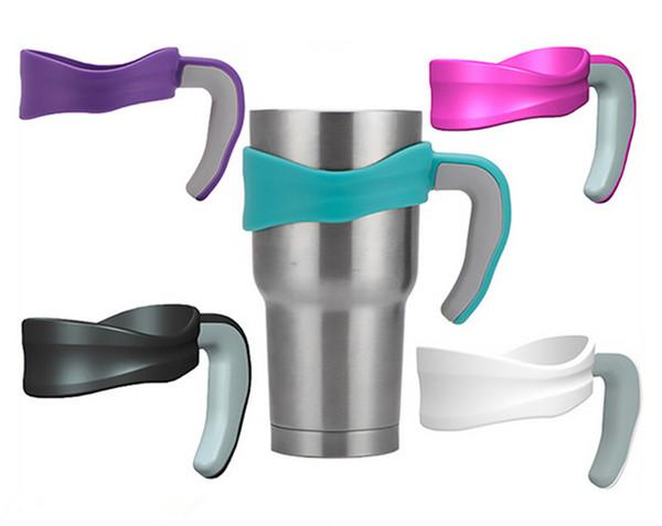 best selling 20oz 30 oz Cup Handles Drink Holders for Stainless Steel Cups Tumbler Mug Wine Glasses Vacuum Tumbler Mugs Cup Handles