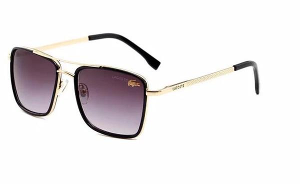 Kadın ve erkekler metal gözlük Yetişkin Güneş Gözlüğü bayanlar Marka Tasarımcısı moda Siyah Gözlük kızlar sürüş Güneş Gözlükleri 138