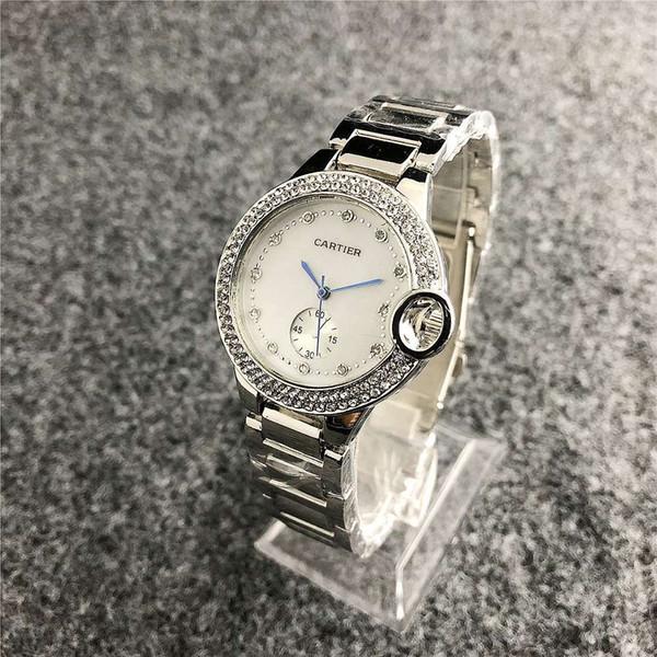 Lüks Tasarımcı Marka İzleme w122 Mekanik Kuvars Saatler erkek Çiftler Deri Çelik bant saatler Kalite watchs womensAAAKARTİYER