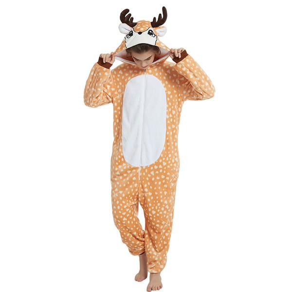 disponibilità nel Regno Unito cff31 06efa Acquista Flanella Donna Kigurumi Pigiama Unicorno Set Cute Animal Pigiama  Set Uomo E Donna Inverno Unicorno Homewear Inverno Sleepwear A $57.89 Dal  ...