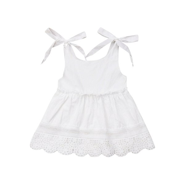 Summer White Dresses for Girl Baptism Baby Girl Clothing 1 Year Birthday Party Toddler Christening Clothes Infant Dress