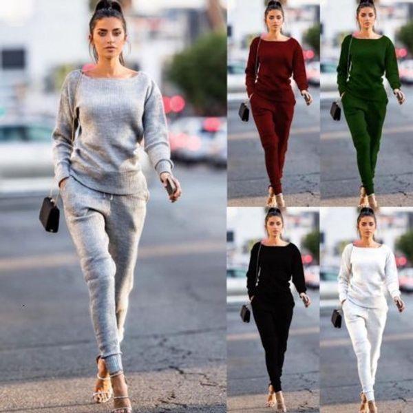 tracksuit women 2pcs set long sleeve pullovers  pants cotton outfits sportswear joggers women sweatsuit set mid female clothing