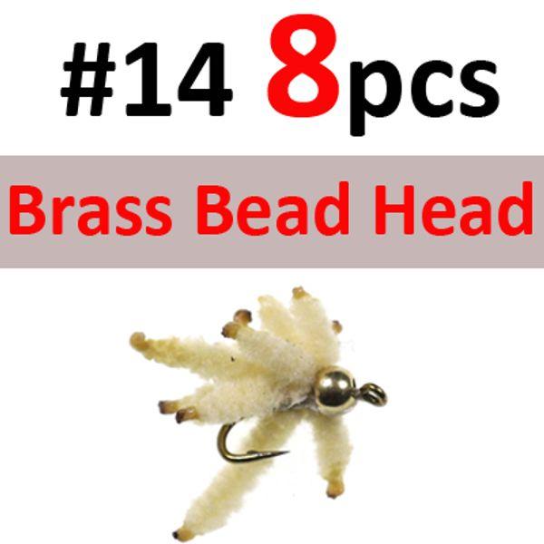 8PCS Brass SIZE 14