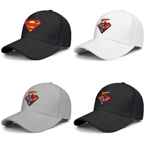 Coaster superman logo Unisex Man cool best 100% Cotton new picnic Dad Hats life baseball visor hats Cartoon Design Of Superman Overkill