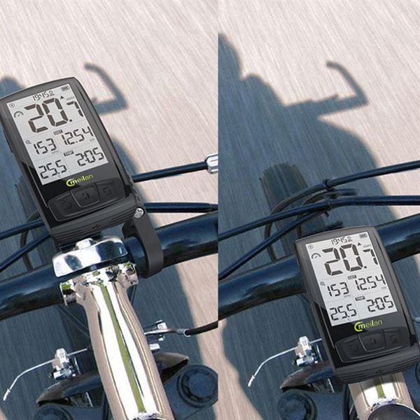 Meilan M4 Велосипед Тахометр Беспроводной Велосипед Компьютер Скорость Cadence Bike Sensor Bluetooth4.0 Спорт Монитор Сердечного ритма # 221165