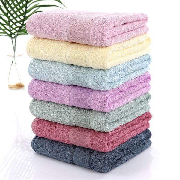 Wholesale Antibacterial Bamboo Bath Towel for Men Women 70*140cm Super Soft Large Home Hotel Shower Towels Bathroom Gift Towels