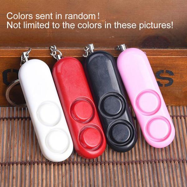 Mini Personal alarm anti-wolf 120 dB Loud Security Rape Siren Alarm LED Light Key Chain