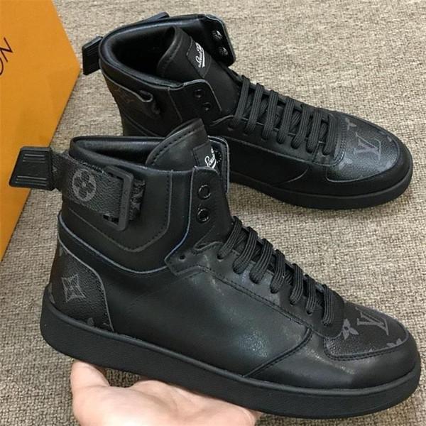 Kökeni Kutusu Sonbahar ve Kış Bırak Gemi Ayakkabı Boyutu 38-45 ile Erkekler Ayakkabı En Lüks Casual Erkek Ayakkabı