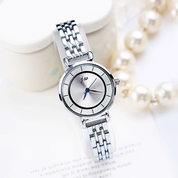 2019 Best Selling Women Lady Quartz Watches Woman Designer Luxury Gift Clock Watch Stainless Steel Alloy Analog Quartz Timepieces Watches