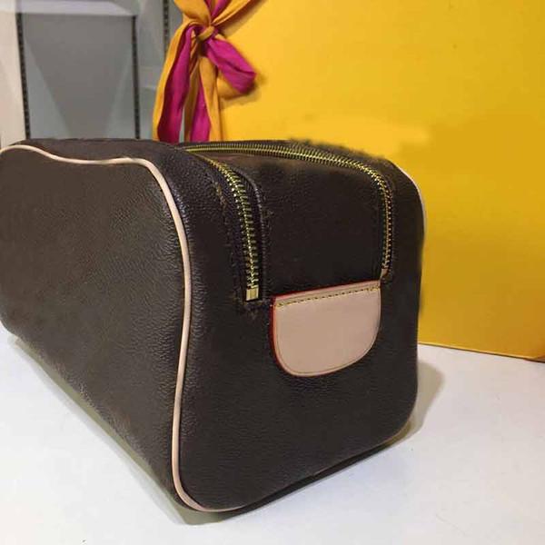 çanta tasarımcısı KING SIZE TOILETRY kadın moda çanta hakiki deri L çiçek deseni bayanlar çantayı çanta