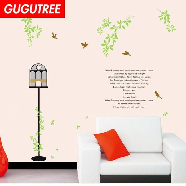 Decorate Home leaf light cartoon wars art wall sticker decoration Decals mural painting Removable Decor Wallpaper G-2242