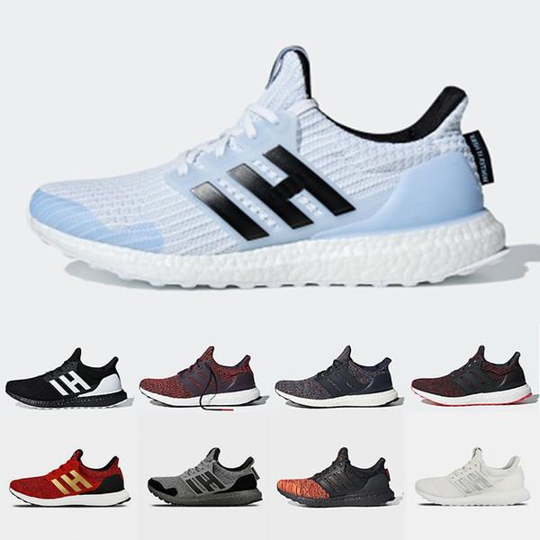 Adidias Ultraboost Game of Thrones X Ultra boost 4.0 2019 mens Running shoes House Stark White Walker Primeknit trainers men women sports sneakers