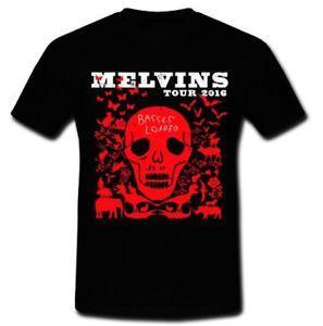 MELVINS TOUR 2016 T-SHIRT NFUNNYOSIS BANDE MÉTALLIQUE CHARGÉE DOOM BANDE MÉTALLIQUE M XL 2XL