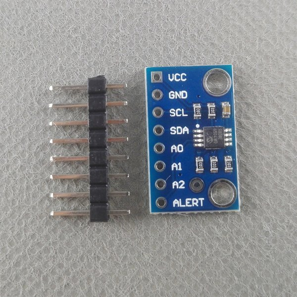 Thinary Electronic Wholesale High Accuracy Temperature Sensor MCP9808 I2C Breakout Board Module 2.7V-5V Logic Voltage for Arduino in Stock