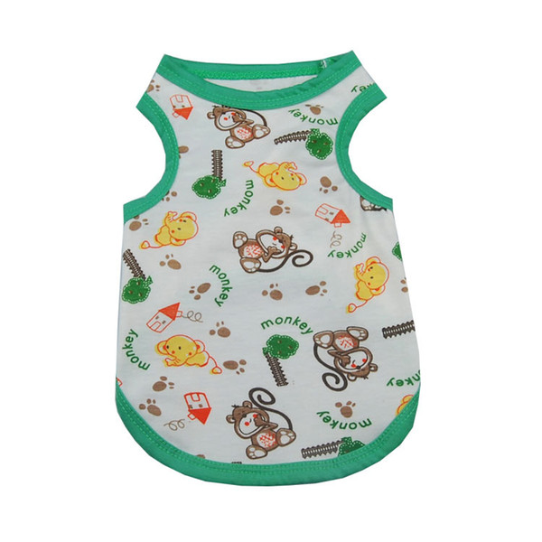 Summer Dog Clothes Pet Vest Puppy Dog Shirt Cats Clothes for Teddy Poodle Small Dogs Clothing Pet Apparel XS-XL 5 Size