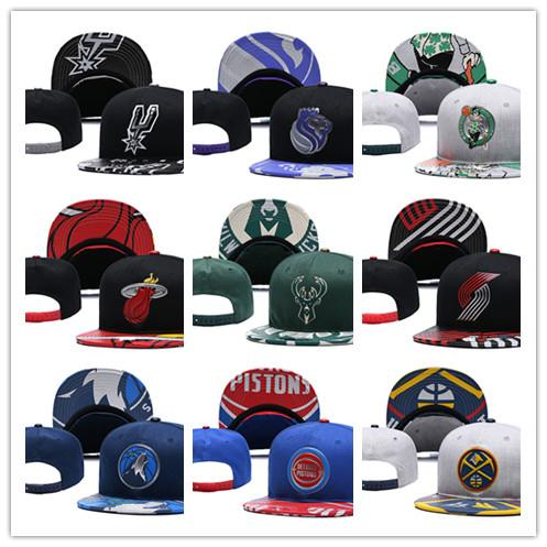 2019 New Men Women's Basketball Snapback Baseball Snapbacks All Teams for Men's Women's Football Hats Hip Hop Sports Hat Mix Order