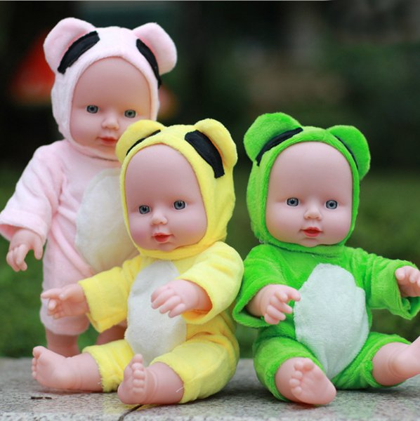 Simulated baby dolls can talk dolls to soothe sleeping soft rubber dolls, girls and children's toys