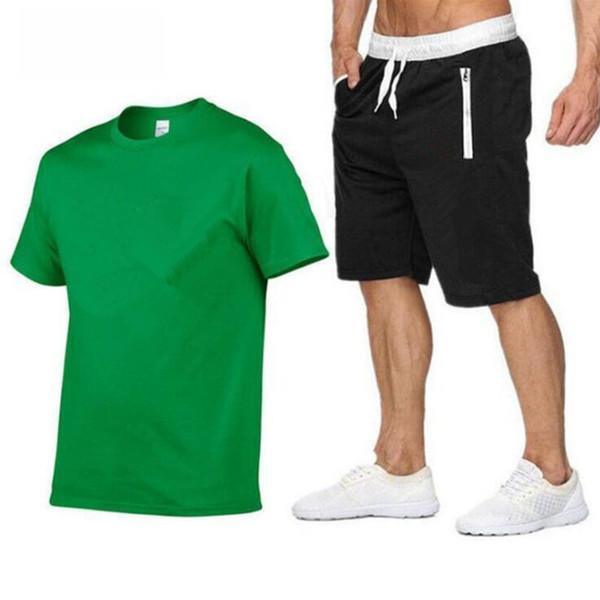 verde e nero Ell logo bianco
