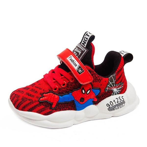 Spider-man kids shoes kids designer shoes boys sneakers kids sneakers chaussures enfants boys trainers girls trainers girls sneakers A6844