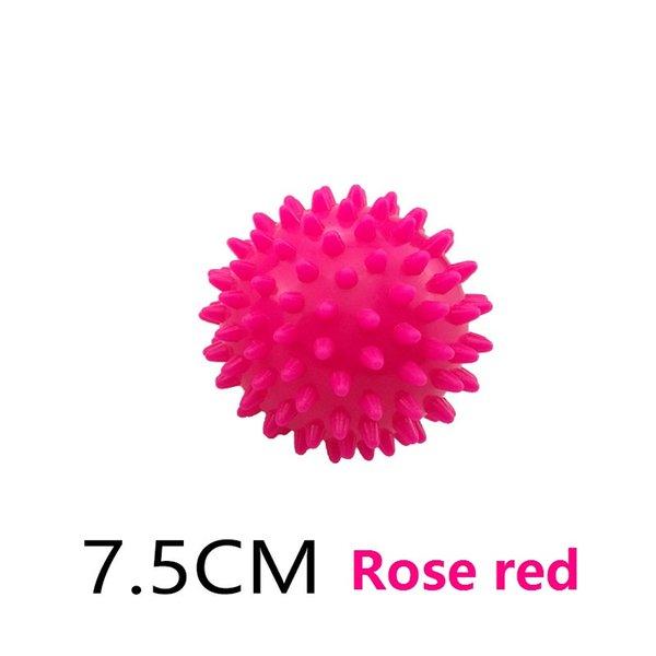 7,5cm rosa vermelha