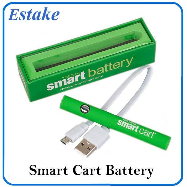 Smart Cartridge Preheat Variable Voltage Battery 510 Thread 380mah Rapid Pre-heat Smart Battery Vape Pen Fit Smart Carts 0266267-1