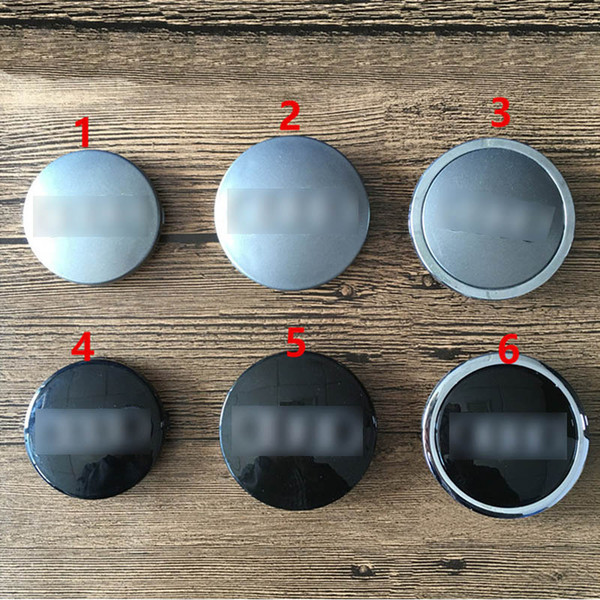 best selling 60mm 68mm 69mm gray black car Wheel Center Cap Hub Caps Car Rims Cover Badge for 4B0 601170   8D0 601170   4B0 601170A