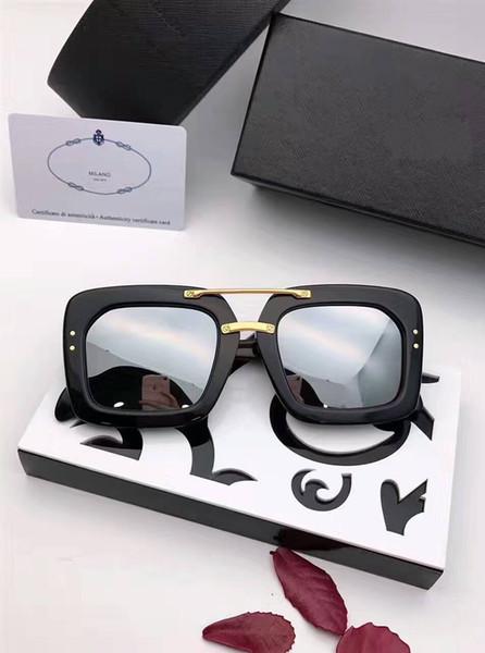 Lüks-Yeni güneş gözlüğü SPR28RS-F gafas de sol sunglass yolları elips kutusu güneş gözlüğü erkekler ve kadınlar güneş gözlükleri renkli film óculos marka