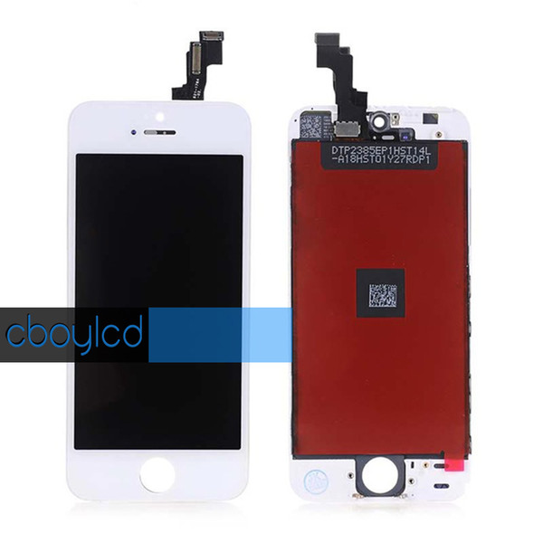 Grade A+++ Glass Touch Screen Digitizer LCD Assembly Replacement For iPhone 5S/SE & Free shipping