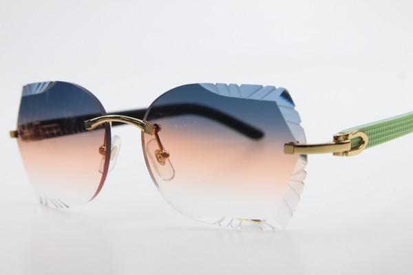 Gold Blue Orange Lens