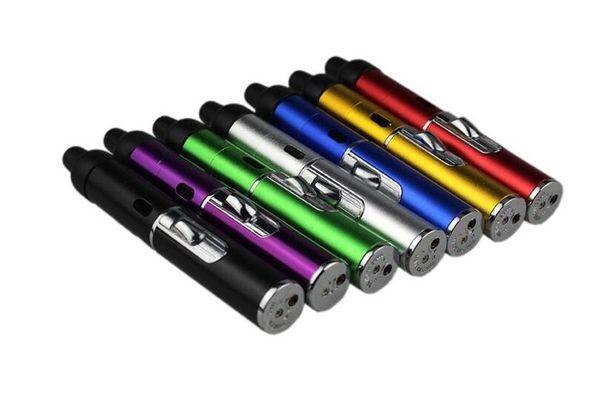 2019 click N Vape sneak a toke vaporizer pen Smoking Metal pipes for smoking dry herb Vaporizer tobacco torch butane