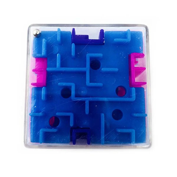 3.7 CM Mini 3D Cube Puzzle Maze Toy Funny Brain Game Fidget Toys Balance Educational Toys for Kids Birthday Gift