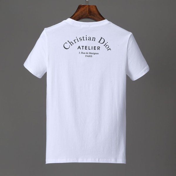 T-shirt à manches courtes à manches courtes en coton à manches courtes pour hommes # 6208
