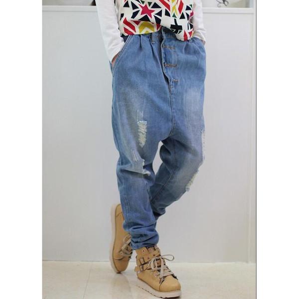 Calça Jeans Masculina Harem Denim Calças Calça Jeans Americana Folgada Calças Soltas Shierxi