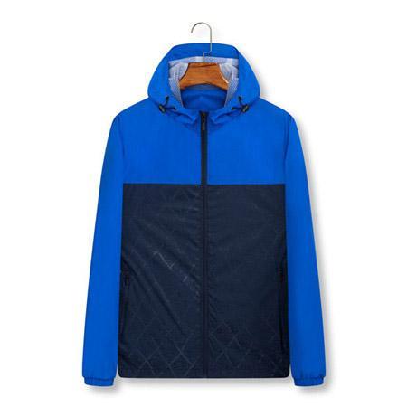 Marque de haute qualité à manches longues 2019 Nouveau Designer Mens Fashion vrac coupe-vent et des couleurs naturelles pour veste de sport avec Taille M-4XL QSL1982910