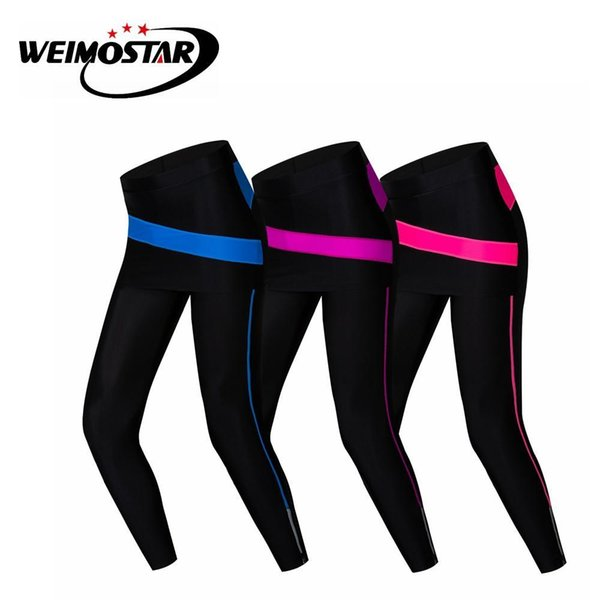 top popular Weimostar Spring Autumn Women Cycling Pants Outdoor Sports Ropa ciclismo Bicycle Long Pant Bike Quick Dry Clothing Wear 2020