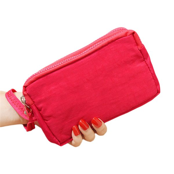 Phone Wallet Package Cross Section Clutch Bag Large Capacity 3 Layers Handbag Valentines Gift for Women Girls High Quality