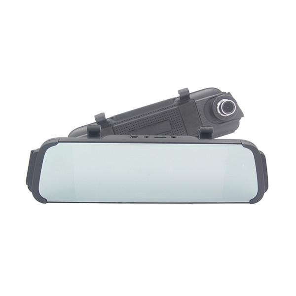 "7"" inch Touch Screen dual lens car camera rearview mirror auto dvrs cars dvr registrator dash cam full HD camcorder 5 car dvr"
