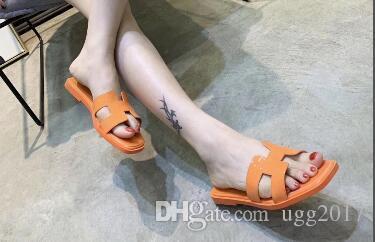 top 2019 nueva moda para mujer zapatillas planas pies cómodos para mujer sandalias tricolor 35-41 tamaño europeo